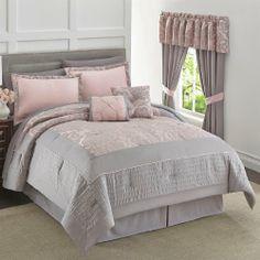 Brylanehome Carrie 6-Pc. Comforter Set BrylaneHome http://www.amazon.com/dp/B00IGULC6W/ref=cm_sw_r_pi_dp_8DRRtb1Y38DRYEZH