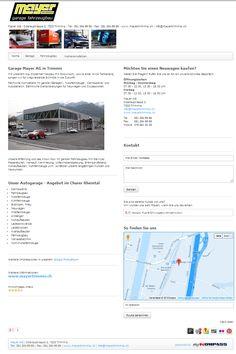 Carrosserie, Trimmis, Garage, Fahrzeugbau, Nutzfahrzeug, Chur, Mayer AG