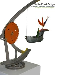 STABILE FLORAL DESIGN From: www.FlowerShowFlowers.com