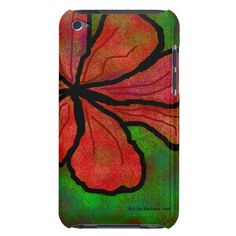 Flower fun barely there iPod cover
