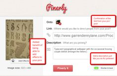 Advantages of Using Pinerly to Monitor Your Marketing on Pinterest by @Lorna Sixsmith