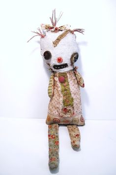 Junker Jane Art Dolls and Soft Sculptures