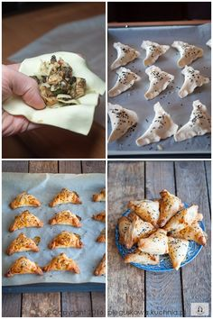 PASZTECIKI Z CIASTA FRANCUSKIEGO - Każdy ma jakiegoś bzika - Pieguskowa kuchnia Cheese, Cake, Recipes, Food, Kuchen, Recipies, Essen, Meals, Ripped Recipes