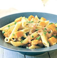 Roasted Butternut Squash and Ham - Pasta Recipes - Mascarpone Pasta ...