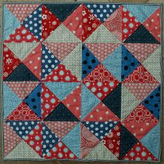 14 Little Quilt of Love #28 finished
