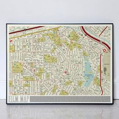 Dorothy - Film Map - A street map made up of over 900 film titles Reservoir Dogs, Grand Budapest Hotel, Litho Print, The Shape Of Water, Valley Of The Dolls, Nightmare On Elm Street, Oeuvre D'art, Beautiful Day, Just In Case