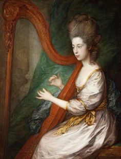 Louisa, Lady Clarges (1760–1809) by Thomas Gainsborough (Victoria Art Gallery - Bath UK) | Grand Ladies | gogm