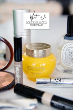 Wedding makeup essentials: http://www.stylemepretty.com/living/2013/10/10/whats-in-gal-meets-glams-makeup-bag/