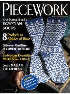 PieceWork July/August 2012 | InterweaveStore.com