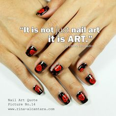 """""""It is not just nail art, it is art. Manicure Quotes, Nail Polish Quotes, Nail Quotes, Heart Nail Art, Heart Nails, Diy Pretty Nails, How To Do Nails, Fun Nails, Nail Memes"""