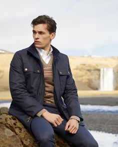 Warm Up with Essential Outerwear for Men This Winter at Brooks Brothers Suit Shop, Man Shop, Chesterfield Coat, Stylish Raincoats, Walking Jackets, Formal Coat, Preppy Winter, Duffle Coat, Dress Trousers