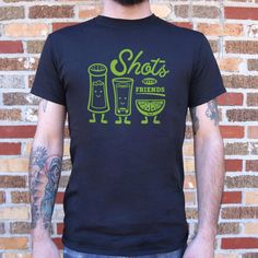 Mens Shots With Friends T-Shirt