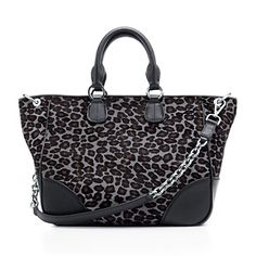 I need to have this. Tiffany & Co. Amelia tote in midnight black haircalf and onyx leather.