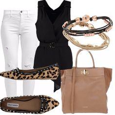 Un pomeriggio con le amiche  outfit donna Trendy per scuola universit  e  ufficio  db700b1a8cb