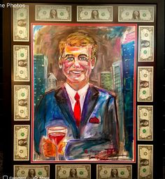 Jimmy Ropes Portrait.  Money accents necessary.