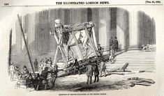 The arrival of the Assyrian sculptures at the British Museum, The Illustrated London News, 28 February 1852.