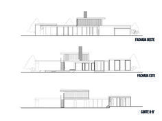 Richard Neutra, Autocad, Palm Springs, Architecture Plan, Residential Architecture, Casa Kaufmann, Desert Homes, House Drawing, Construction