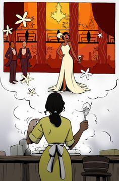 disney-24-7:  princessesfanarts:  Tiana by ~Tallychyck  Tiana actually does inspire me.