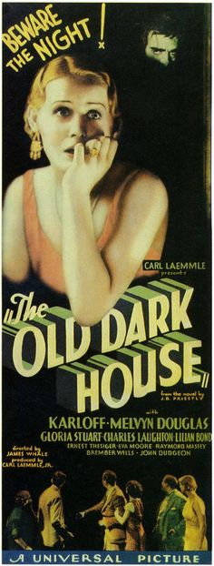 The Old Dark House (1932)-classic James Whale movie