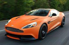 2014 Aston Martin Vanquish V12 Orange