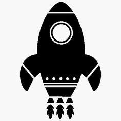 rocket ship silhouette