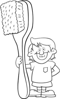 Coloring page | Dental Health | Pinterest | Dental and Dental health