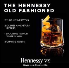 The Hennessy Old Fashioned