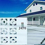 Entrance,外観,ハワイ,カリフォルニア,surf,カリフォルニアスタイルに関連する他の写真 Surf House, My House, Besser Block, Boundary Walls, American Houses, California Style, West Coast, Entrance, House Design