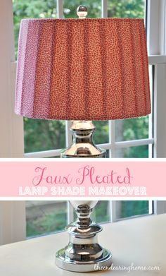 Lampshade makeover that doesnt look like crap pinterest lamp lampshade makeover that doesnt look like crap pinterest lamp makeover tutorials and prints aloadofball Images