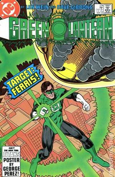A cover gallery for the comic book Green Lantern Green Lantern Corps, Dc Comic Books, Comic Book Covers, Comic Art, Dc Tattoo, Dave Gibbons, George Perez, Cartoon Posters, Free Comics