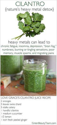 A juice detox recipe for a happier brain