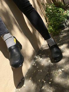 #oybo #socks #oddsocks #stripes #blackandwhite #chaussettes #calzini #dansko