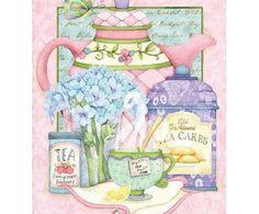 Placa Decorativa Tea Sucar Decopage - 30x39cm | Westwing - Casa & Decoração