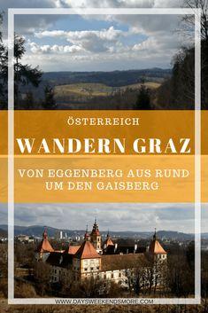 Wanderung in Eggenberg - Um den Gaisberg Outdoor Reisen, Reisen In Europa, Movies, Movie Posters, Travel, Berg, Outdoor Adventures, Hiking Trails, Graz