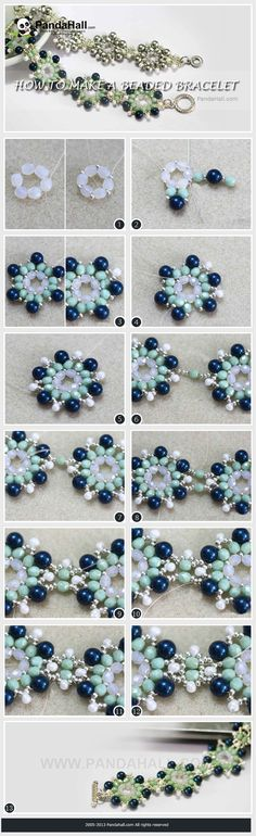 In the do it yourself bracelets tutorial, you will find out an efficient way on how to make a beaded bracelets that are extremely exquisite and highly adorable. The level is fitful for Beginner to Intermediate.: