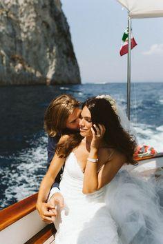 Destination Wedding in Capri, Italy