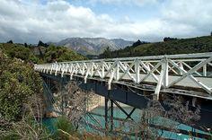 The Rakaia Gorge Bridge, New Zealand
