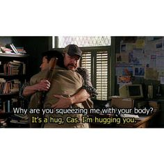 This is so me. I am such a shitty hugger. Because I don't quite get/like them. However, I hear I have quite the handshake.