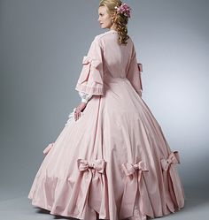 Butterick Sewing Pattern B5543 Misses' Civil War Costume