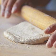 Thin-Crust Pizza Dough (Williams Sonoma)- Ingredients:  1 1/2 tsp. active dry yeast  1 tsp. sugar  3/4 cup warm water (about 105°F)  1 cup cake flour  1 cup plus 3 Tbs. all-purpose flour  1 1/4 tsp. kosher salt  2 Tbs. extra-virgin olive oil. Makes two 10-inch thin-crust pizzas.