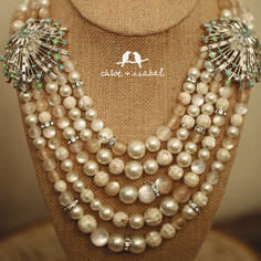 Shop the Heirloom Pearl Capsule Collection! http://www.chloeandisabel.com/boutique/jewelaccess/dbd957