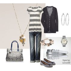 Casual Wear, created by button519.polyvore.com