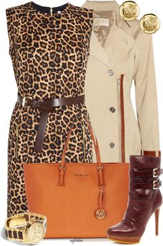 """Love Michael Kors!"" by angkclaxton ❤ liked on Polyvore"