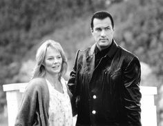 Still of Steven Seagal and Marg Helgenberger in Fire Down Below (1997)