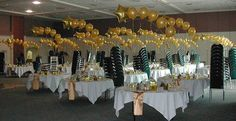 Shooting Stars balloon tablecenters