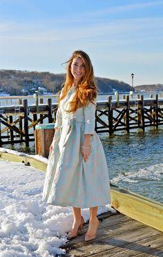 Pastels, The Hamptons, Fashion Beauty, Midi Skirt, Winter, Classic, Skirts, Color, Dresses