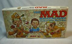 Mad Magazine Vintage Board Game