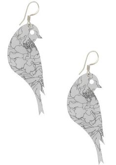 Pair of Sweet 'Keets Earrings by Passion Flower