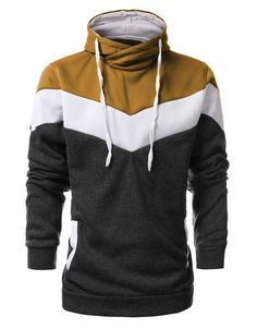 The Arrow Pullover Hoodie Brown/Grey