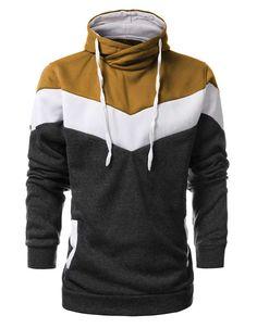 The Arrow Pullover Hoodie Brown/Grey